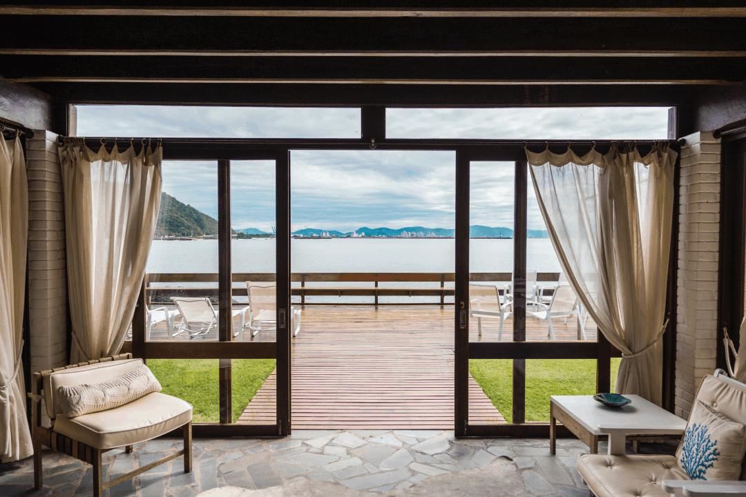 maison de vacances au bord de la mer